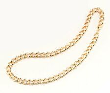 1980's 80's Chunky Gold Rapper Chain Fancy Dress Costume Accessory P2154