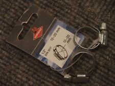 2 Schlauchschellen Schneckengewinde B 9 mm D 12 - 20 mm DIN 3017 originalverpack