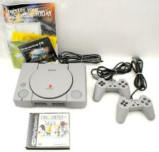 Sony Playstation 1 Console & Final Fantasy Game