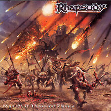 Rain of a Thousand Flames by Rhapsody (CD, Oct-2001, Lmp)