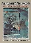 Personality Psychology : Science of Individuality by Nathan Brody and Howard...