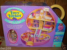 #8884 RARE NRFB Vintage Mattel Polly Pocket Lucy Locket Carry N Play Dream Home