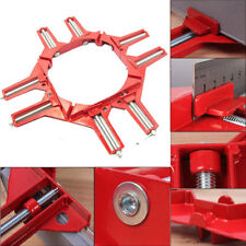 90°Degree Right Angle Picture Frame Corner Clamp Holder Woodworking Hand Kit RED