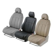 Clazzio Custom Fit Leather Seat Covers - Toyota SUV & Pickup- Front & 2nd Seat