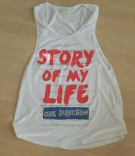 One Direction, Tank, Top, shirt, Story Of My Life, Vip, L/XL NWOT, slub