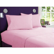 Home Decor 4 pcs Attached Water Bed Sheets 1000TC Egyptian Cotton Select Size
