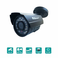 iSmart 700TVL Night Vision Waterproof Outdoor Bullet Camera 3.6mm CCTV Security