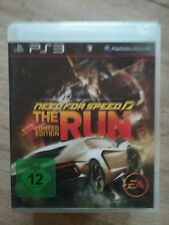 Need For Speed: The Run -- Limited Edit (Sony PlayStation 3, PS3) mit anleitung
