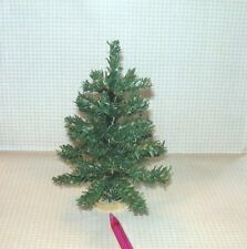 "The BEST Cheap 5 3/8"" Tall Christmas Tree:  DOLLHOUSE Miniatures 1/12 Scale"