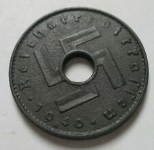 10 Reichskreditkassen 1940 A. KM#99. Very fine Nazi German military coin.