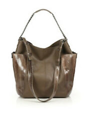 JIMMY CHOO ANNA LEATHER & SNAKESKIN SHOULDER BAG $2450