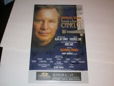 camelot  poster   signed  by  michael york ++++   ordway st.paul mn    #848