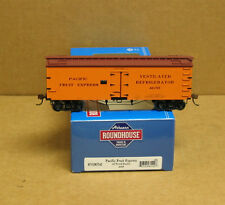 Athearn 85542 HO Pacific Fruit Express 36' Wood Reefer #4655