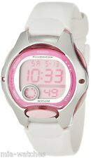 Casio LW200-7A Ladies White Digital Sports Watch 10 YEAR BATTERY Stopwatch