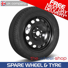 "15"" Vauxhall Zafira A 1999 - 2005 Full Size Spare Wheel & Tyre - Free Delivery"