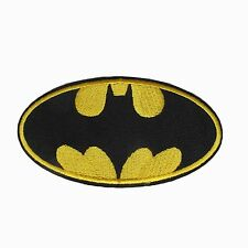 #6105 BATMAN LOGO,DC COMICS Embroidery Iron On Applique Patch