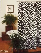 "Kimlor Mills Zebra Print Shower Curtain 72""x72"""
