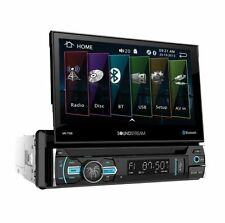 "NEW Soundstream 1 Din VR-75B DVD/CD/MP3 Player Flip Up 7"" LCD Bluetooth USB AUX"