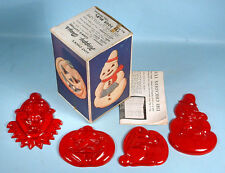 1940-50s Aunt Chick's Happy Days Cookie Cutters Set with Box Halloween Easter
