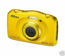 Nikon W100 Nikon W100 Camera Point & Shoot Camera  (yellow)