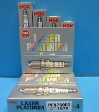 4X OES NGK 1675 Spark Plugs Laser Platinum Premium OEM# PFR7S8EG Made In Japan
