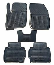 Rubber Car Floor Mats All Weather Custom fit Ford Mondeo 2015 2016 4d 5d ST