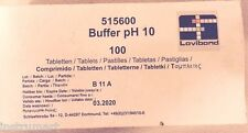 Lovibond Water Test Tablets (Strips of 10) pH 10 Buffer solution