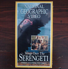 NATIONAL GEOGRAPHIC VIDEO -- WINGS OVER THE SERENGETTI VHS (FACTORY SEALED)