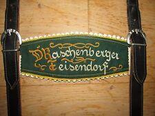 OID´E WAHNSINNS BÄRIGE D´RASCHENBERGER TEISENDORF ECHTLEDER LEDERHOSEN-TRÄGER!!!