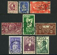 Ireland 125,131,133,135,139,142,145,147,149, Small Used Lot, 1943-1953