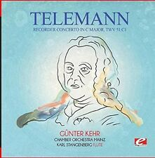 Recorder Concerto In C Major Twv 51:c1 - Telemann (2015, CD NEU)