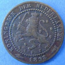 Nederland - The Netherlands 1 cent 1898 KM# 107