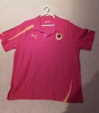 Angola Football Red Polo Shirt by Puma - Size XL - Excellent Condition