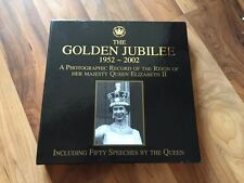 THE GOLDEN JUBILEE 1952-2002,  A PHOTOGRAPHIC RECORD. BOOK Boxed & Sealed NEW