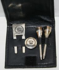 Cadillac Chrome Golf Set with Tees, Ball Marker and Pitch Repair Fork - [PL1118]