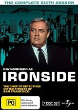 Ironside : Season 6 (DVD, 2014, 7-Disc Set) (Fatpack) - Region 4