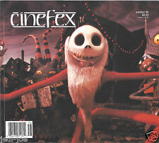 Cinefex #56 Nightmare Before Christmas Robocop 3 Rare Behind the Scenes Pics