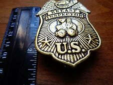 OFFICIAL BREAST INSPECTOR Tit Pin American Biker Club Rat Rod Trucker Vest Patch
