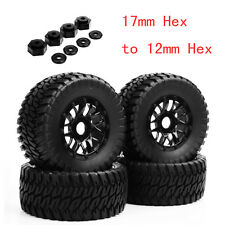 4X PP1003K RC 1:10 Short Course Truck Tires&Wheel Rim 4 TRAXXAS SlASH W/Adapter