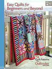 Pattern Book ~ EASY QUILTS FOR BEGINNERS AND BEYOND  ~  From Quiltmaker Magazine