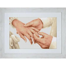 Cross Stitch Kit Forever Luca-s Anchor threads (Wedding)