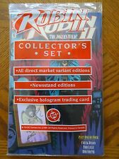 Robin II Collector Set Comics Part #1 of 4 Issues Hologram Trading Card NIP MINT