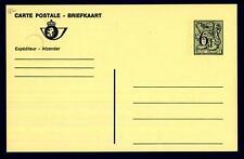BELGIUM - BELGIO - Cart. Post. - 1980 - 6,50 Fr  - Stemma - Valore numerico