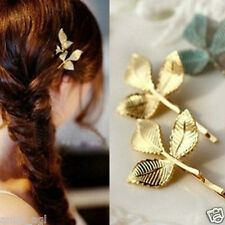 Stile Beautiful 14K Gold Plated Imitation Fashion Hairpin Hair Clip Women