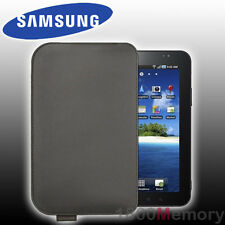 "GENUINE Samsung Galaxy Tab 2 3 4 A 7.0"" Leather Pouch Carry Case Chocolate"