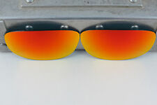 Oakley Pit Boss 2 II Ruby Iridium Polarized Replacement Lenses Custom Cut