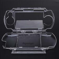Clear Crystal Travel Carry Hard Skin Protect Cover Case for Sony PSP 2000 3000