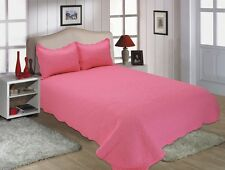 H-All For You 3PC quilt set, bedspread or coverlet-reversible