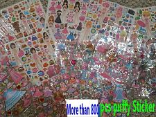 Lots of Dress up Puffy Doll Sticker ( more than 800 pcs sticker)