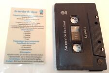 AT&T French Customer Service Tape Cassette AU SERVICE DU CLIENT ~ Cassette Audio